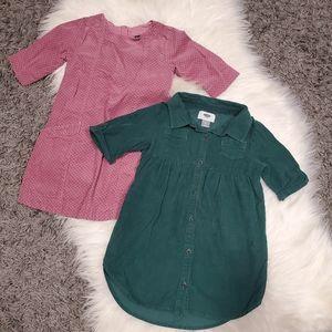 2 Toddler Girl Dresses Size 3-4T